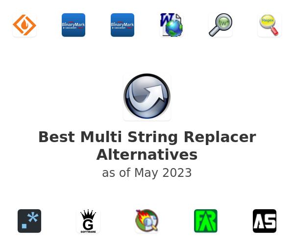 Best Multi String Replacer Alternatives