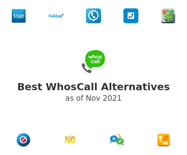 Best WhosCall Alternatives
