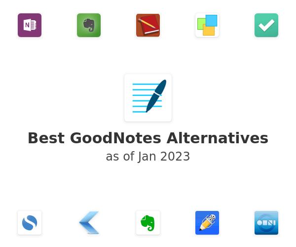 Best GoodNotes Alternatives