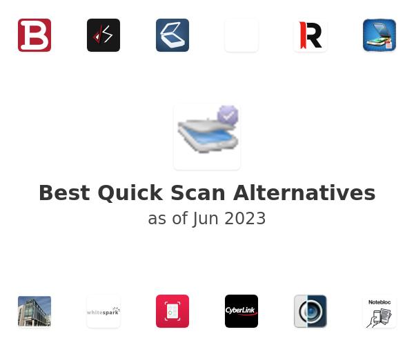 Best Quick Scan Alternatives