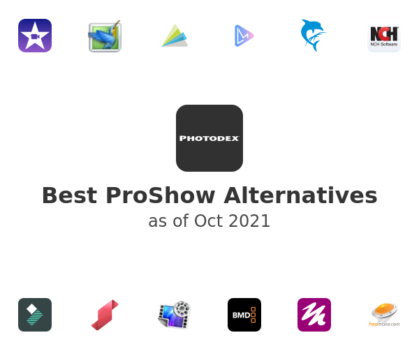 Best ProShow Alternatives