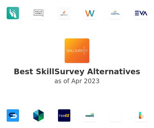 Best SkillSurvey Alternatives