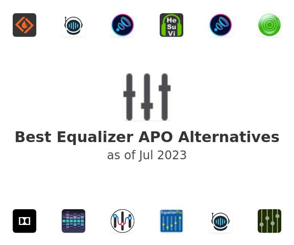 Best Equalizer APO Alternatives