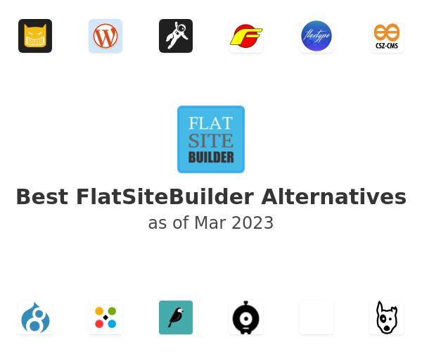 Best FlatSiteBuilder Alternatives