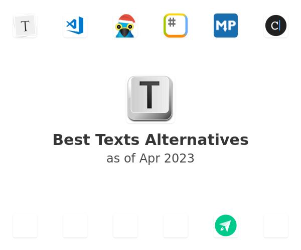 Best Texts Alternatives