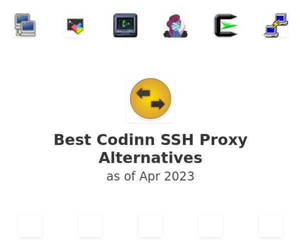 Best Codinn SSH Proxy Alternatives