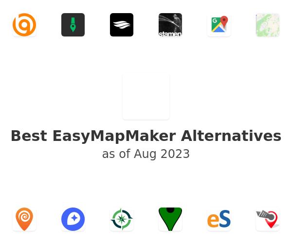 Best EasyMapMaker Alternatives