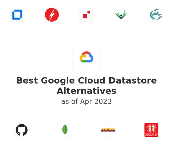 Best Google Cloud Datastore Alternatives