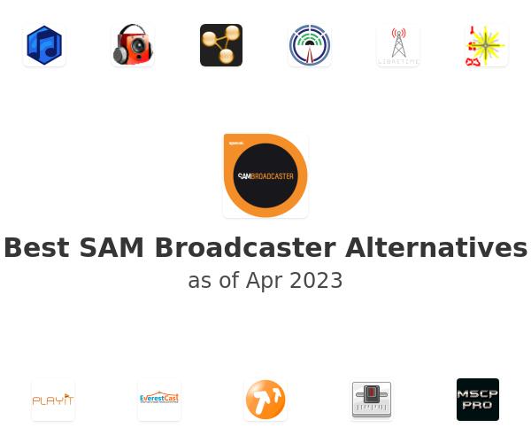 Best SAM Broadcaster Alternatives