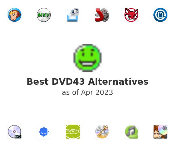 Best DVD43 Alternatives