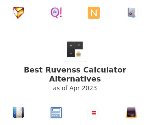 Best Ruvenss Calculator Alternatives