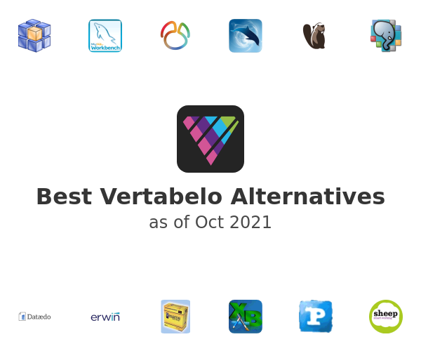 Best Vertabelo Alternatives