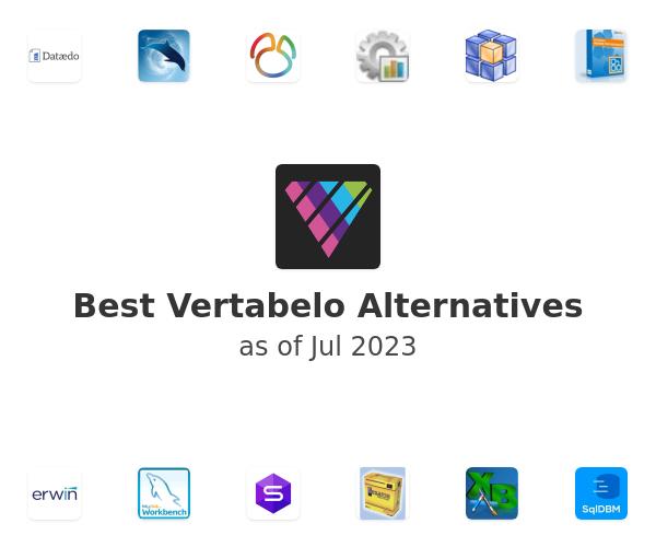 Best Vertabelo Alternatives