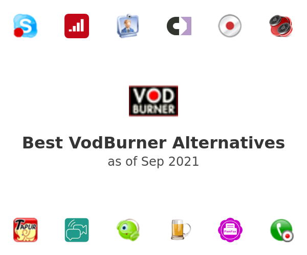 Best VodBurner Alternatives