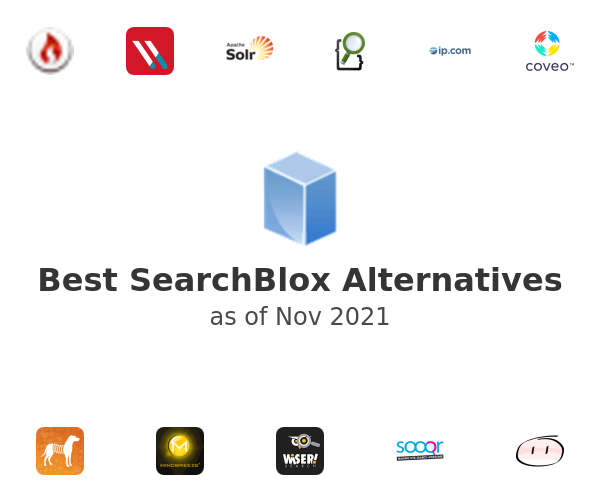 Best SearchBlox Alternatives
