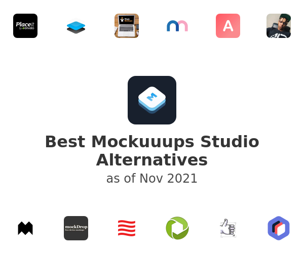Best Mockuuups Studio Alternatives