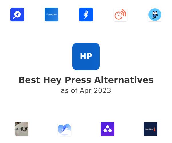 Best Hey Press Alternatives