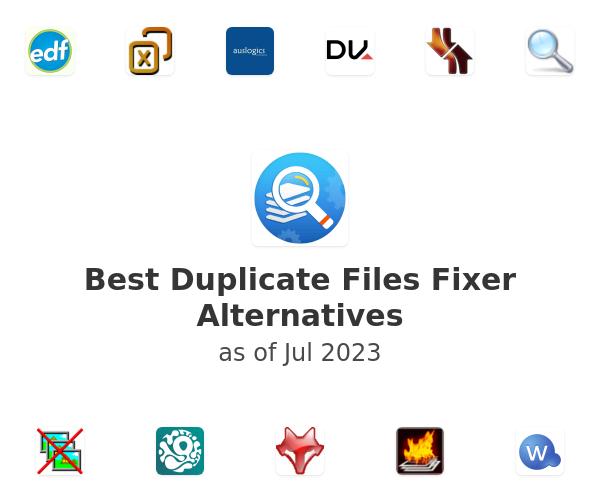 Best Duplicate Files Fixer Alternatives