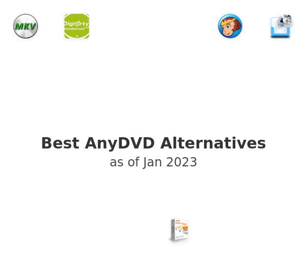 Best AnyDVD Alternatives