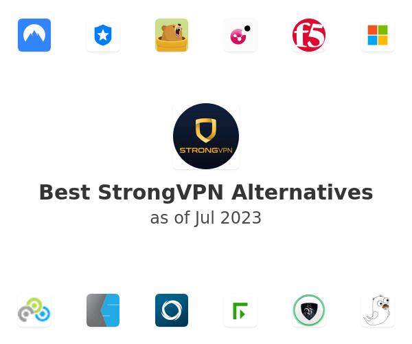 Best StrongVPN Alternatives