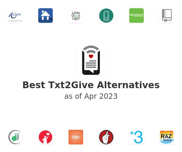 Best Txt2Give Alternatives