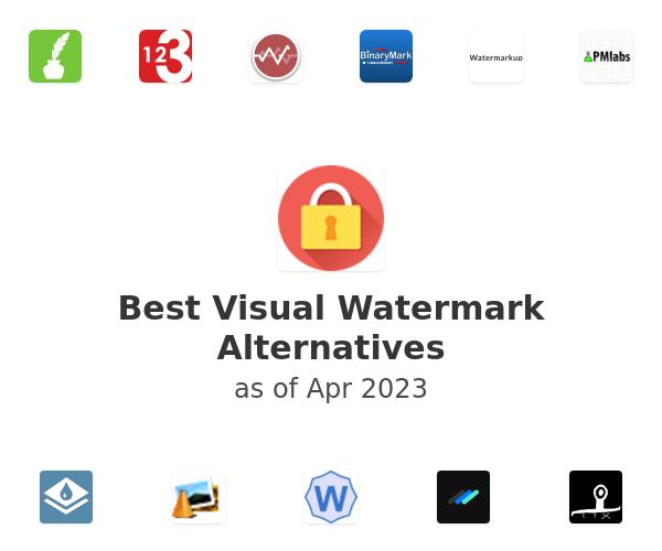 Best Visual Watermark Alternatives