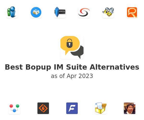 Best Bopup IM Suite Alternatives
