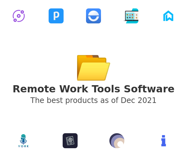 Remote Work Tools Software
