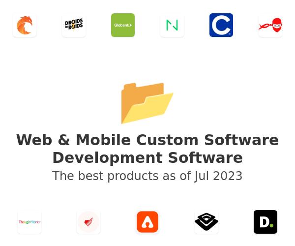 Web & Mobile Custom Software Development Software