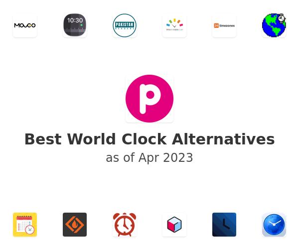 Best World Clock Alternatives