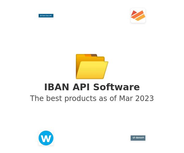 IBAN API Software