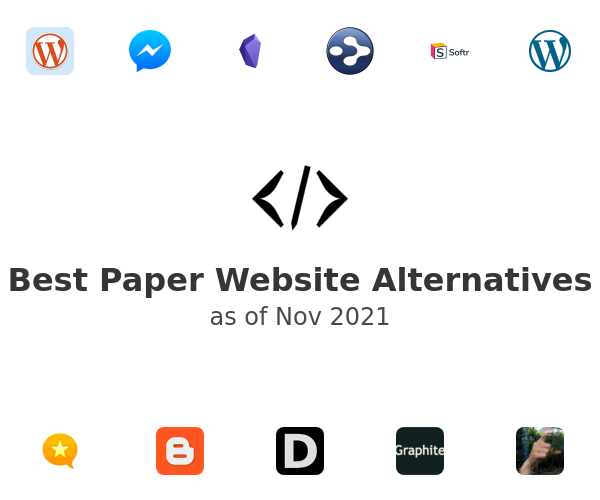 Best Paper Website Alternatives