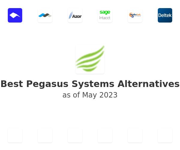 Best Pegasus Systems Alternatives