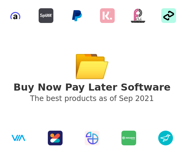 Buy Now Pay Later Software
