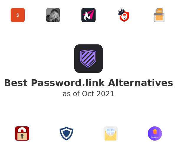 Best Password.link Alternatives