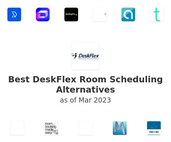 Best DeskFlex Room Scheduling Alternatives