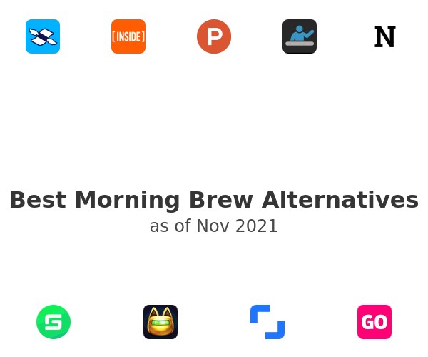 Best Morning Brew Alternatives