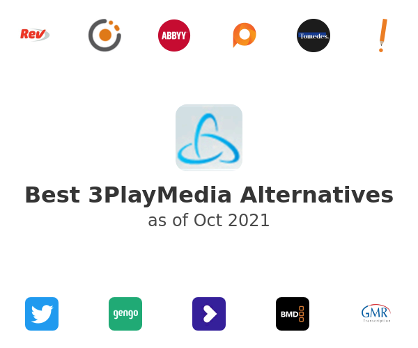 Best 3PlayMedia Alternatives