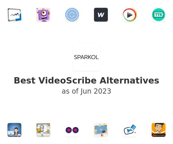Best VideoScribe Alternatives