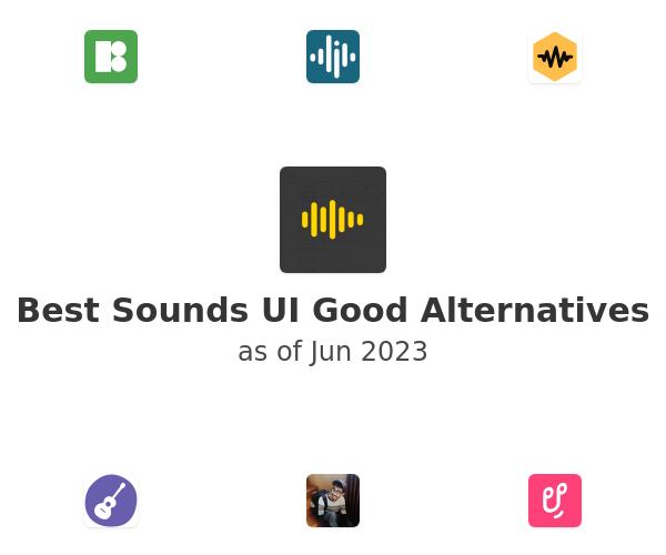 Best Sounds UI Good Alternatives