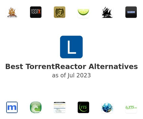 Best TorrentReactor Alternatives