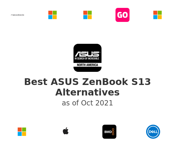 Best ASUS ZenBook S13 Alternatives