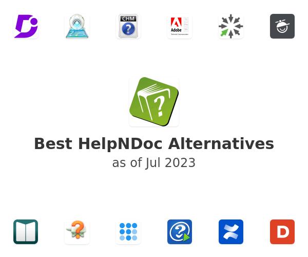 Best HelpNDoc Alternatives