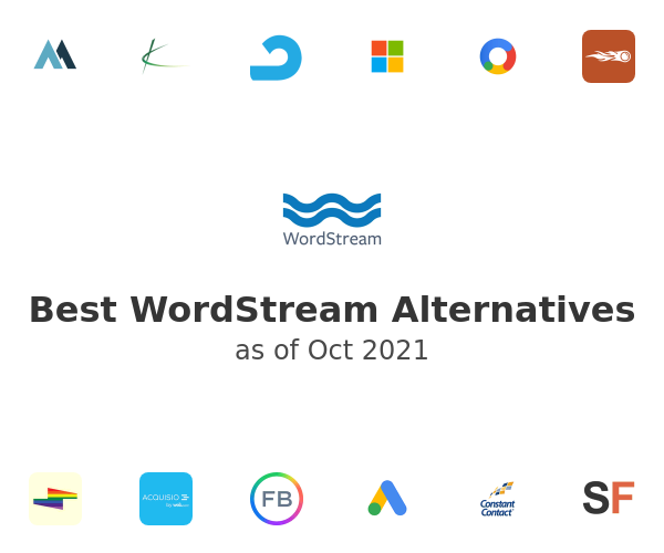 Best WordStream Alternatives