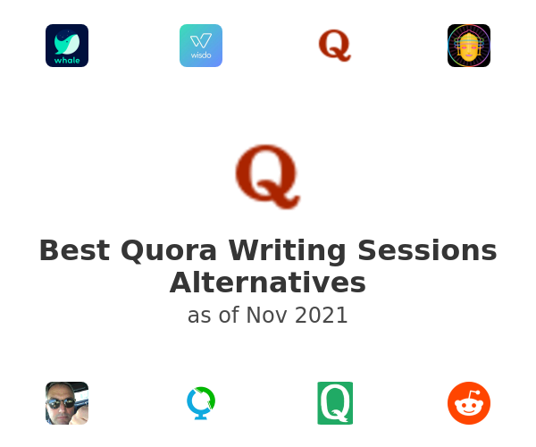 Best Quora Writing Sessions Alternatives