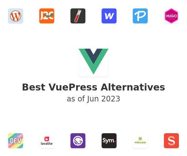 Best VuePress Alternatives