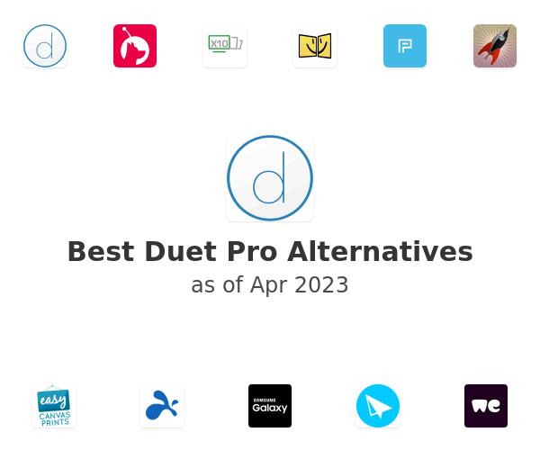 Best Duet Pro Alternatives
