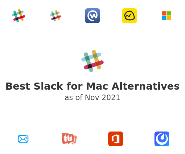 Best Slack for Mac Alternatives