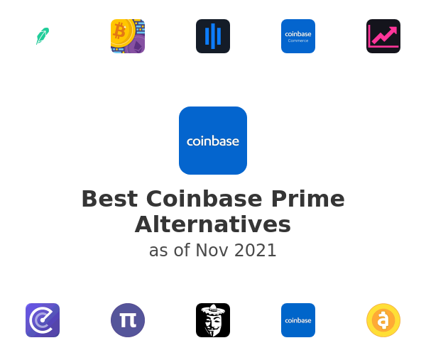 Best Coinbase Prime Alternatives