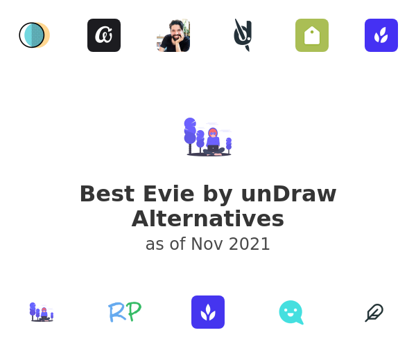 Best Evie by unDraw Alternatives